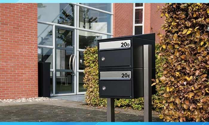 Brick brievenbusunit